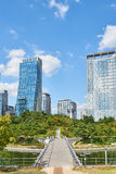 Songdo, Korea - September 07, 2015: Songdo IBD Stock Image