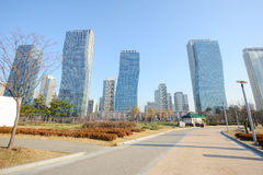 Songdo park Royalty Free Stock Image