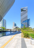 Songdo,South Korea - May 05, 2015: Songdo Central Park in Songdo. District, Incheon South Korea Royalty Free Stock Photo