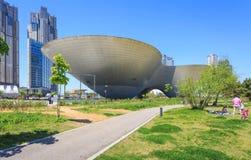 Songdo,South Korea - May 05, 2015: Songdo Central Park in Songdo Stock Photos