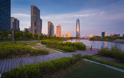 Songdo,South Korea - May 17, 2015: Songdo Central Park in Songdo. International Business District, Incheon South Korea royalty free stock image