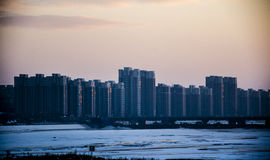 The Songhua River of China Stock Images