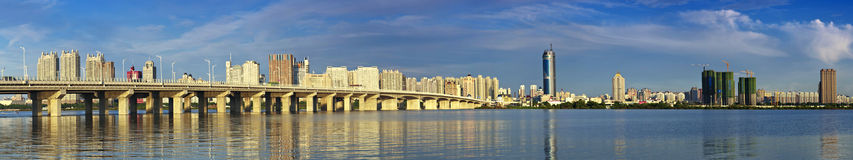 Songhua River in Harbin, Heilongjiang Province Bund. Eastphoto, tukuchina, Songhua River in Harbin, Heilongjiang Province Bund, City, scenery Royalty Free Stock Images