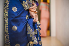 Songket Dress Royalty Free Stock Images