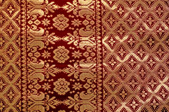 Songket Fabric Stock Image