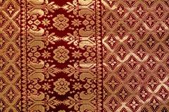 Songket Fabric. Hand Weaven Songket Fabric Malaysia stock image