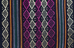 Songket Palembang. Detail of a Songket from Palembang, Sumatra Stock Images