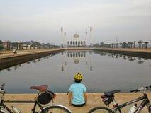 Songkhla central moské, Hadyai, Thailand Fotografering för Bildbyråer