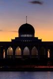 Songkhla della moschea Fotografie Stock Libere da Diritti