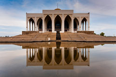 Songkhla Mosque. The reflection of Songkhla Mosque Stock Photo