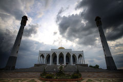 Songkhla Mosque. In thailand by oathart Royalty Free Stock Photography