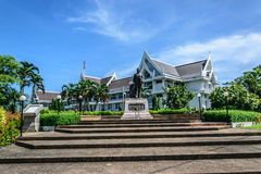 SONGKHLA PROVINCIAL COURT. BEATUFULIT BUILDING OF THE PROVINCIAL COURT IN SONGKHLA Stock Images