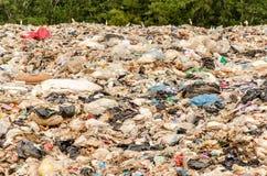 SONGKHLA, THAÏLANDE - 4 AOÛT : Élimination des déchets municipale Photos stock