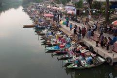 SONGKHLA, THAILAND - 11. AUGUST: A Stockbilder