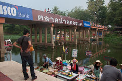 SONGKHLA, THAILAND - 11. AUGUST: Zeichen Lizenzfreie Stockbilder
