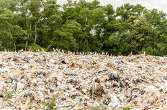 SONGKHLA, THAILAND - AUGUST 4: Municipal waste disposal Stock Photos