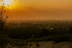 Songkhla View. View from Songkhla. Look on the mountain Stock Image