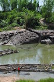 songkram реки Стоковое Фото