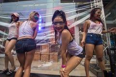 Songkran节日在曼谷,泰国 图库摄影