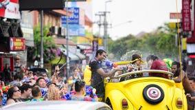 Songkran节日清迈泰国 免版税库存照片