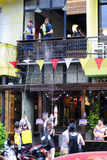 Songkran节日清迈泰国 免版税图库摄影