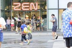 Songkran节日 免版税图库摄影