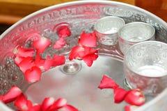 水Songkran节日 免版税图库摄影