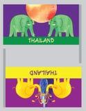 Songkran, ταϊλανδικό νέο έτος, φεστιβάλ νερού Ελεύθερη απεικόνιση δικαιώματος
