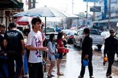 songkran празднества стоковые изображения rf