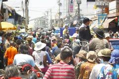 Songkran Stock Foto's