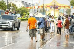 Songkran Royalty-vrije Stock Foto's