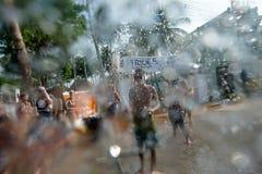 Songkran Stockfoto