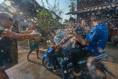 Songkran 图库摄影