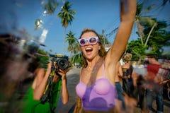Songkran Στοκ φωτογραφία με δικαίωμα ελεύθερης χρήσης