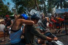 Songkran Στοκ φωτογραφίες με δικαίωμα ελεύθερης χρήσης