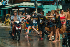 Songkran Στοκ εικόνα με δικαίωμα ελεύθερης χρήσης