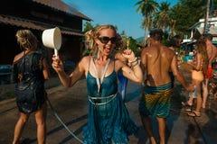 Songkran Στοκ Εικόνες