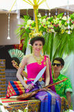 Songkran beauty contest Royalty Free Stock Photos