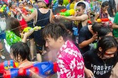 Songkran chaos Zdjęcie Stock