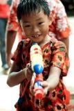 Songkran das thailändische neues Jahr ` s Festival Stockbild