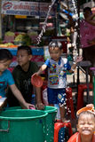 Songkran das thailändische neues Jahr ` s Festival Stockfotos