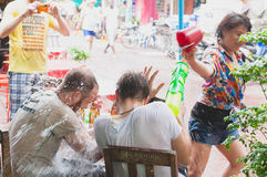 Songkran day Royalty Free Stock Images