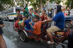 Songkran el festival tailandés del ` s del Año Nuevo Foto de archivo