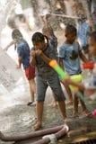 Songkran el festival tailandés del ` s del Año Nuevo Fotografía de archivo libre de regalías