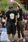 Songkran el festival tailandés del ` s del Año Nuevo Imagen de archivo libre de regalías