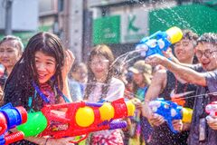 Free Songkran Festival Stock Photo - 178761430