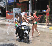 Songkran Festival Royalty Free Stock Photo