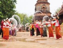 Songkran festival. Songkran, thai new year celebration Stock Photography