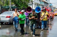 Songkran-Festival 2015 Stockfotografie