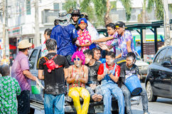 Songkran-Festival 2015 Stockbilder
